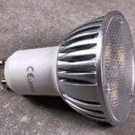 Foto: GU10 LED dimmbar von der Seite