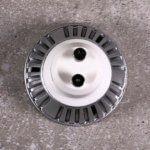 Foto: GU10-LED-Sockel von oben
