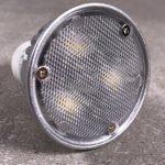 Foto: Vorderes Glas einer LED mit GU10 Sockel