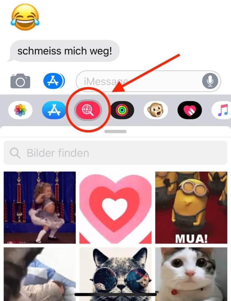 In iMessage GIF-Animationen von GIPHY nutzen, um zu antworten? Das ist unter iOS 12 auf dem iPhone und iPad möglich!