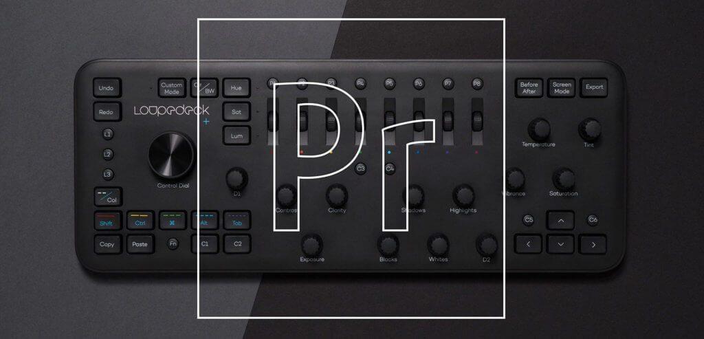 Loupedeck+ und Adobe Premiere Pro CC - mit dieser Kombination erweitert Loupedeck die Möglichkeiten des Mischpults. Neben der Fotobearbeitung ist nun auch die Videobearbeitung an Mac und PC möglich.