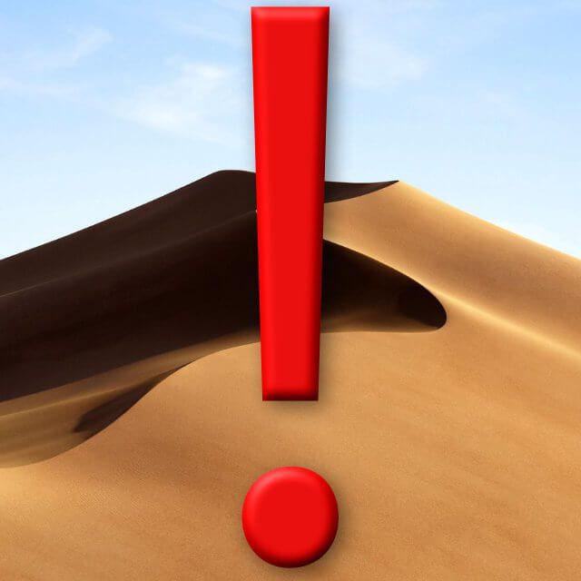 Lösungen für macOS Mojave Probleme.