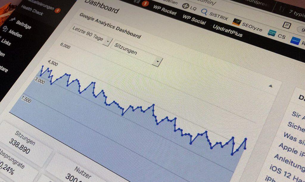 Damit eine WordPress-Seite über Jahre stabil läuft, ist eines an Pflege in Form von Updates und Backupsnötig. Auch dies übernehme ich für Unternehmen und gewerbliche Blogs.