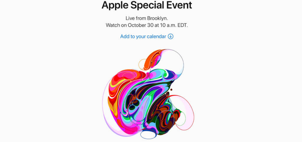 There's more in the making - Das nächste Apple Special Event findet am 30. Oktober 2018 in Brooklyn, New York statt.