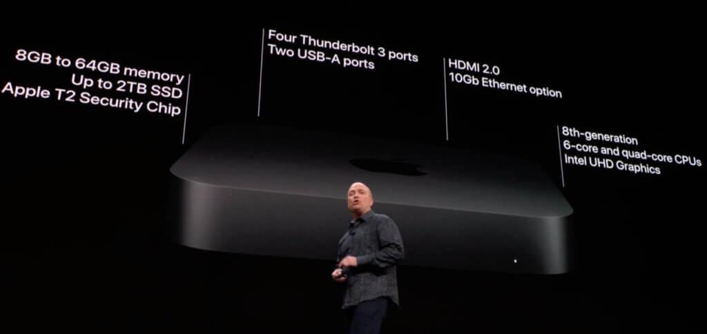 Die Präsentation des neuen Apple Mac Mini 2018 wurde lange erwartet. Mit mehr Leistung und universellen Anschlüssen ausgestattet ist er nun auf dem neusten Stand.