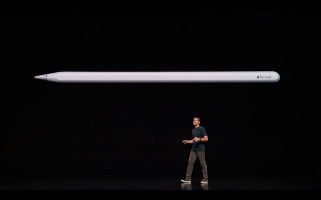 Der Apple Pencil 2. Generation (2018)