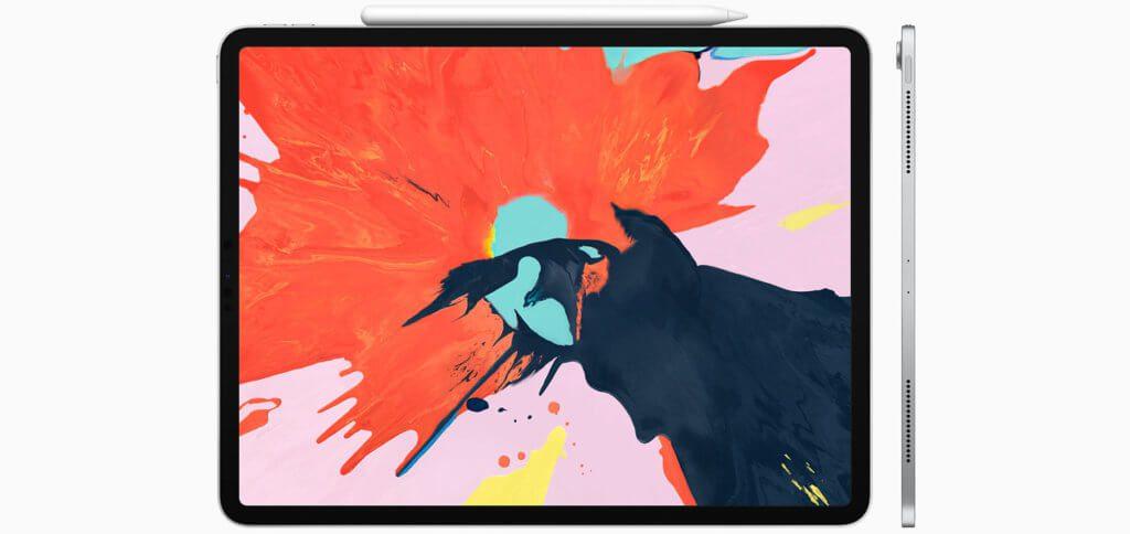 """Das neue 12,9""""iPadPro 2018 wurde nicht nur komplett neu designt, sondern hat nun auch USB-C sowie eine magnetische Halterung für den Apple Pencil."""