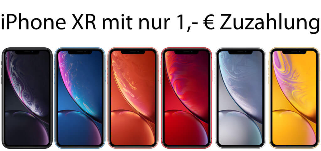 Das Apple iPhone XR mit Tarif kostet einmalig nur 1 Euro. Zudem wird es durch die Buchung mit O2 Free M auch insgesamt billiger. Details zu Smartphone, Mobilfunktarif und Preis gibt es hier.