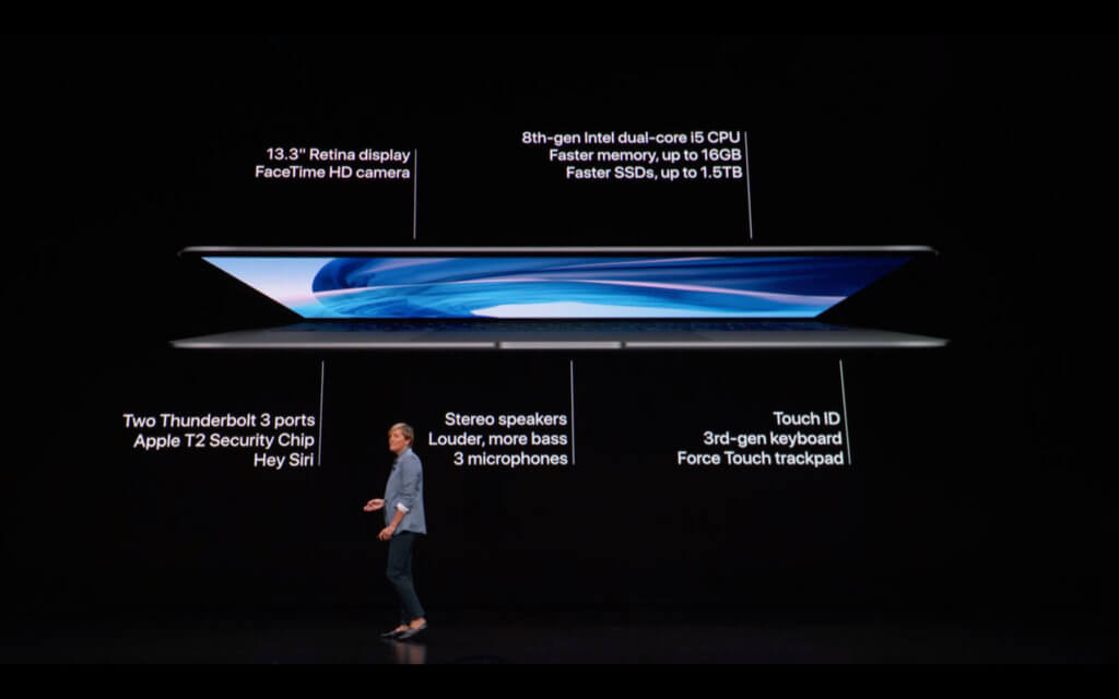 Das MacBook Air 2018 mit Retina-Display