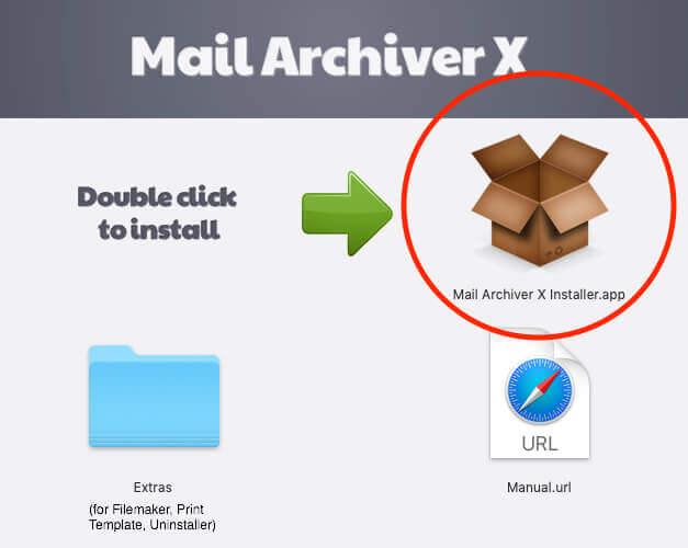 Die Installation von Mail Archiver läuft mit dem Installer denkbar einfach.