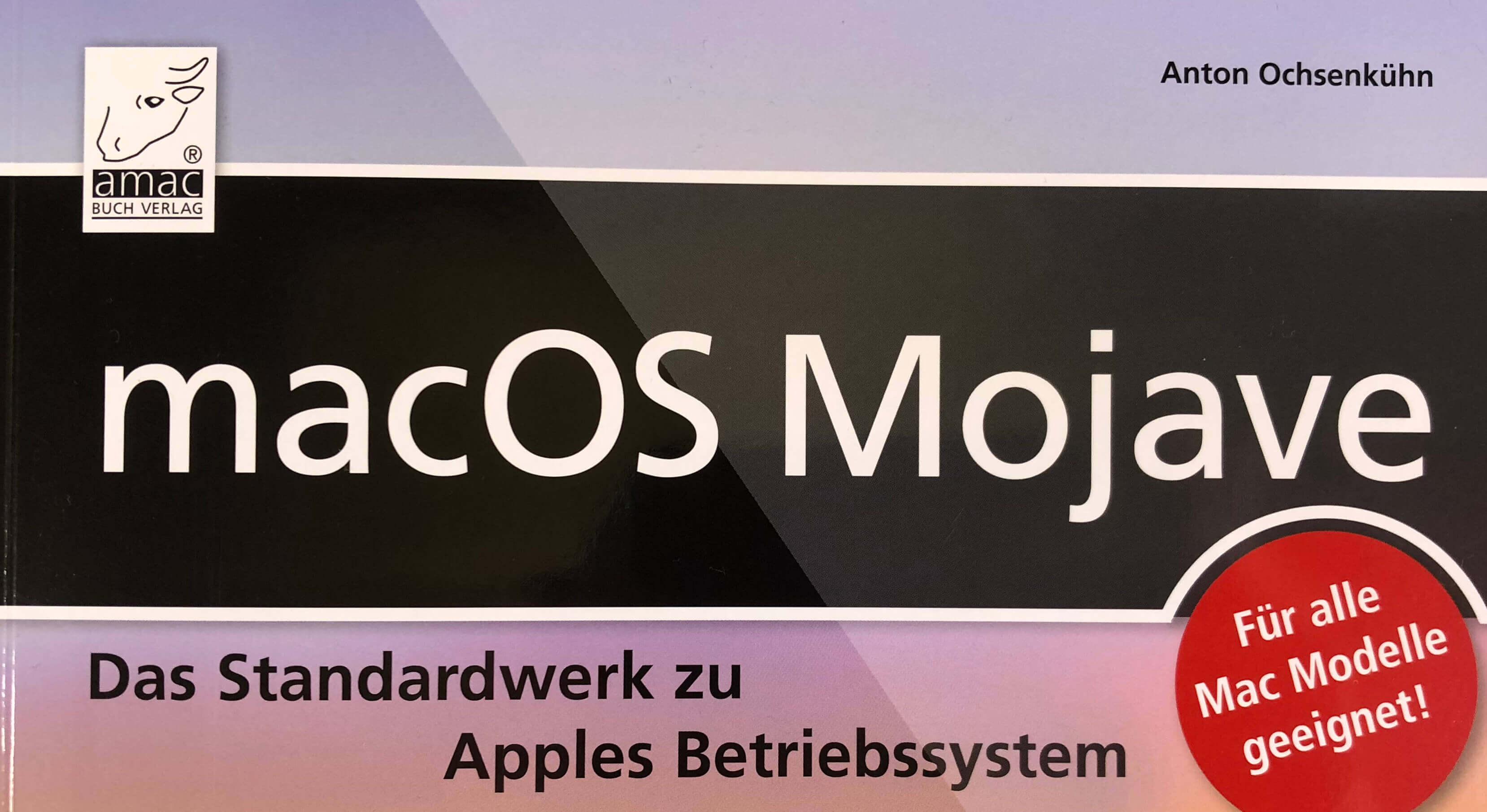 Das Cover sagt schon, was ich auch denke: EIn Standardwerk, das wirklich bei allen Macs mit Mojave dabei liegen sollte.