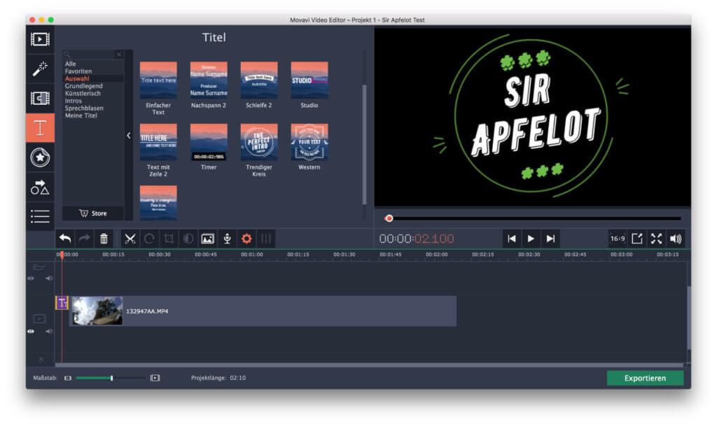 In den letzten Tagen und Wochen hatte ich den Movavi Video Editor 5 für Mac im Test. Hier findet ihr meine Erfahrungen mit der Software.
