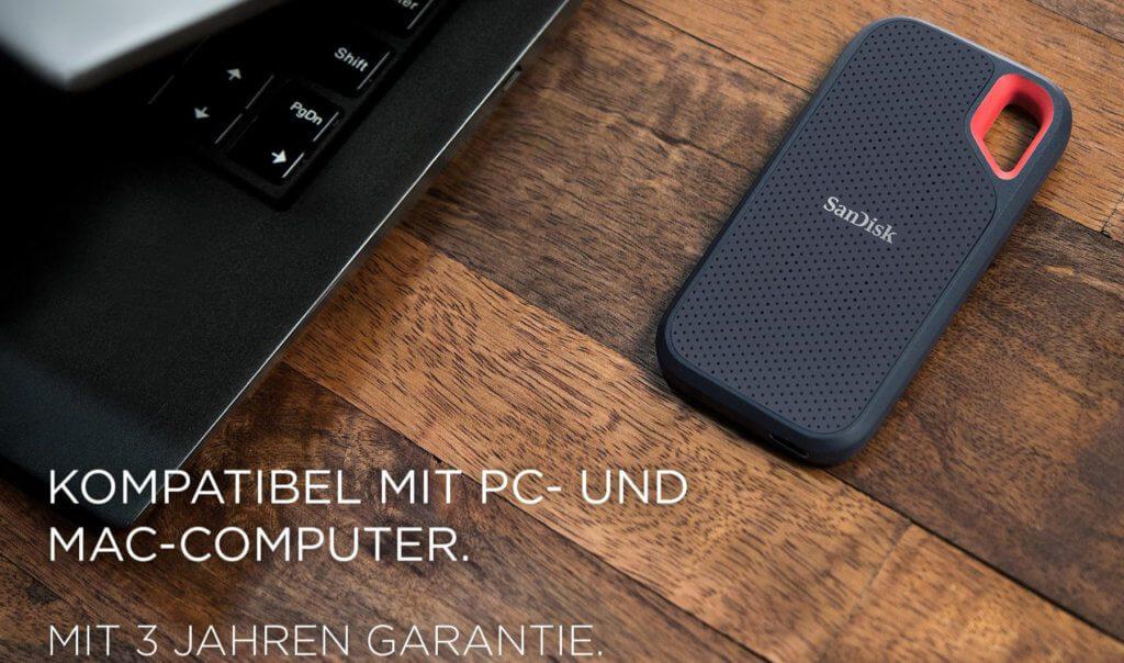 SanDisk SSD Festplatte
