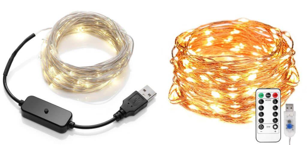 Mit einer USB Lichterkette bekommt ihr LED-Weihnachtsfeeling an Computer, Powerbank oder Netzteil. Hier habe ich euch einige Modelle zusammengetragen. USB-Lichterkette warmweiß 2018