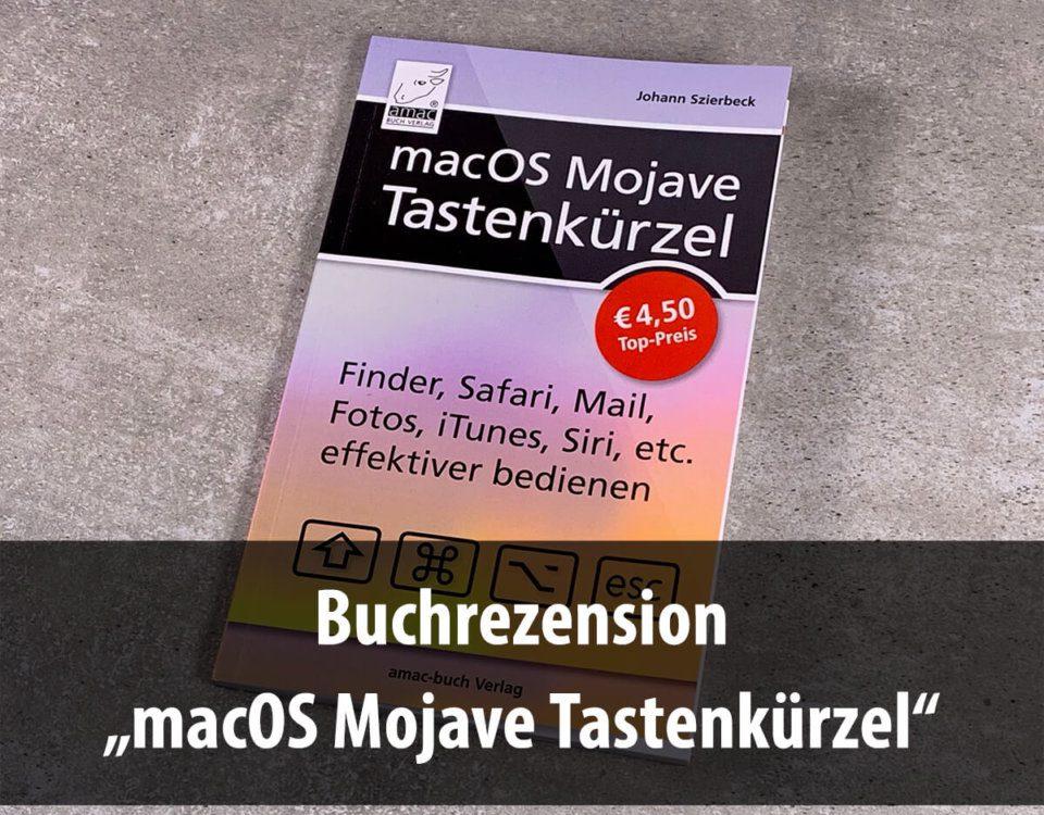 Foto: Buch macOS Mojave Tastenkürzel