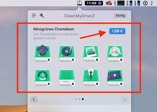 Die In-App-Käufe sind eine Handvoll-Festplatten-Icons für nen Euro. Seht es als Spende für die Entwickler an.