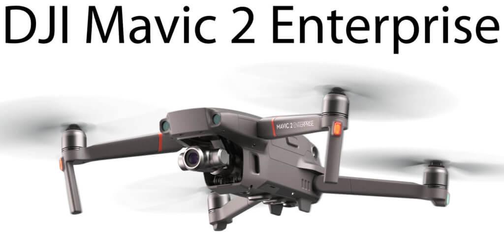 Die DJI Mavic 2 Enterprise (kurz: M2E) ist die neue Profi-Kameradrohne für den Einsatz in Industrie, Bauwesen, Inspektion und Wartung, Notrettung, Brandbekämpfung, Strafverfolgung und mehr. Produktbild: DJI M2E 2018