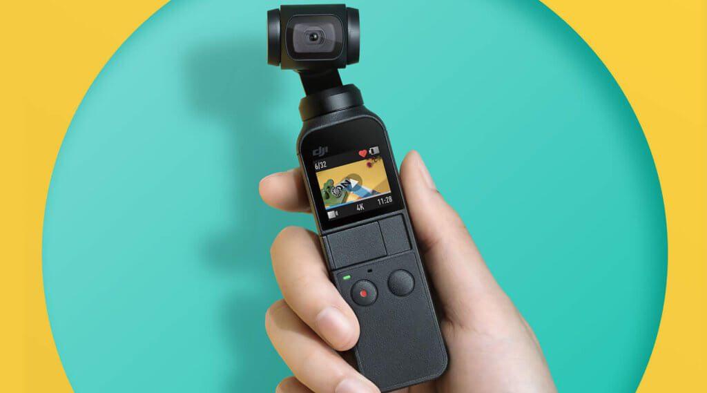 Der DJI Osmo Pocket ist eine Handheld-Kamera mit 3-Achsen-Gimbal und zahlreichen Aufnahmemodi für Foto und Video. Technische Daten, Test-Aufnahmen und mehr gibt's hier!