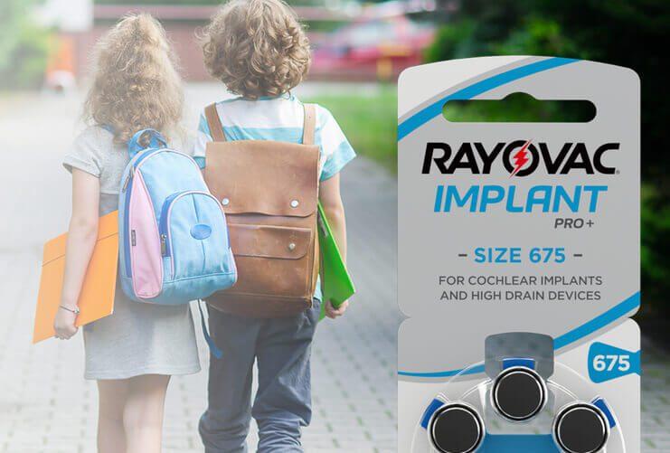 Die Implantatbatterie Rayovac Implant Pro+ wird dem hohen Energiebedarf der Cochlear-Implantate gerecht (Foto: Rayovac).