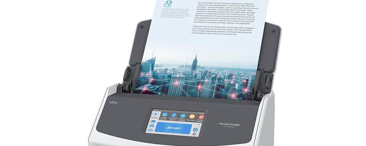 Das aktuelle Flagschiff von Fujitsu: der ScanSnap iX1500.
