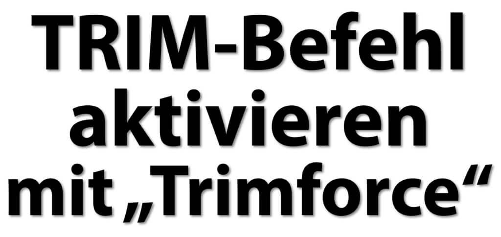 Den TRIM-Befehl unter macOS aktivieren hilft, die Speicherverwaltung der SSD-Festplatte im Mac zu verbessern. Hier gibst's die Anleitung für das Terminal sowie weitere Informationen zum Thema.