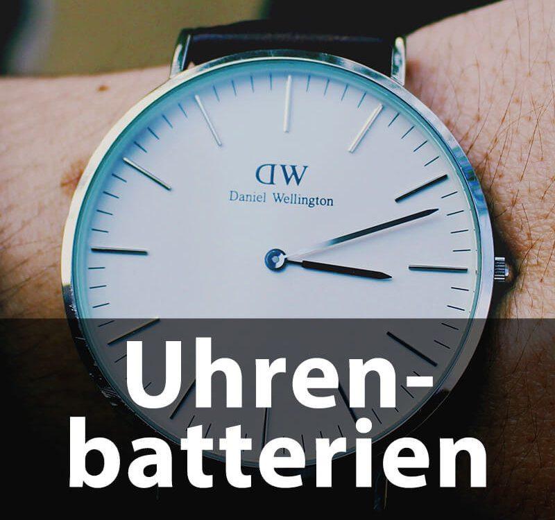 Uhrenbatterien für die gängigen Modelle und Hersteller