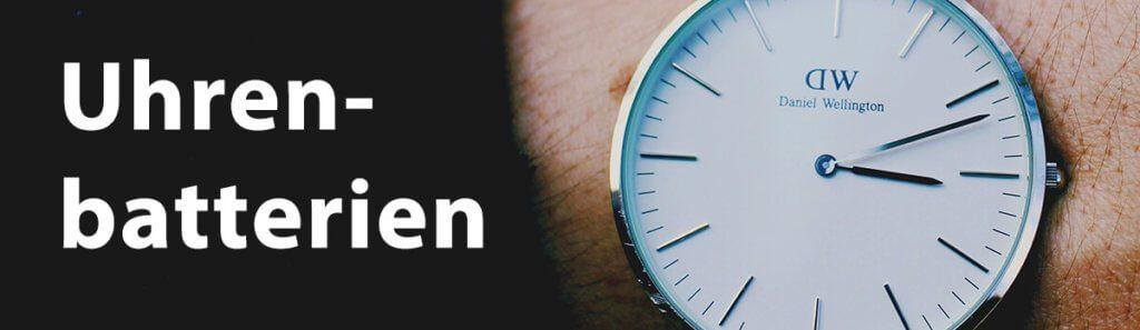 Uhrenbatterien – Hier findest du die richtige Knopfzelle für deine Armbanduhr.