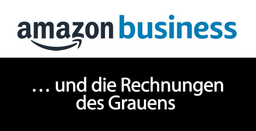 Was man als Unternehmer machmal für Rechnungen von Drittanbietern auf Amazon erhält, kann man wirklich nur als buchhalterisches Grauen bezeichnen. Amazon Business hat hier eine Waffe in Form eines Filters im Arsenal.