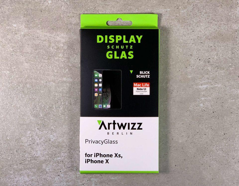 Das Blickschutz-Glas von Artwizz – schützt auch das Display vor Beschädigungen (Fotos: Sir Apfelot).