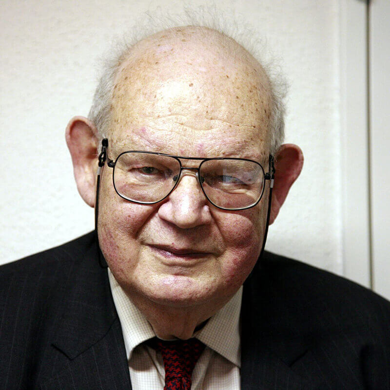 Foto: Benoît B. Mandelbrot (Quelle: Rama/Wikipedia).