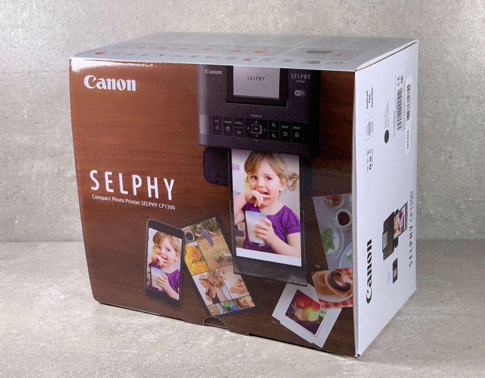 Der Canon Selphy CP1300 Fotodrucker