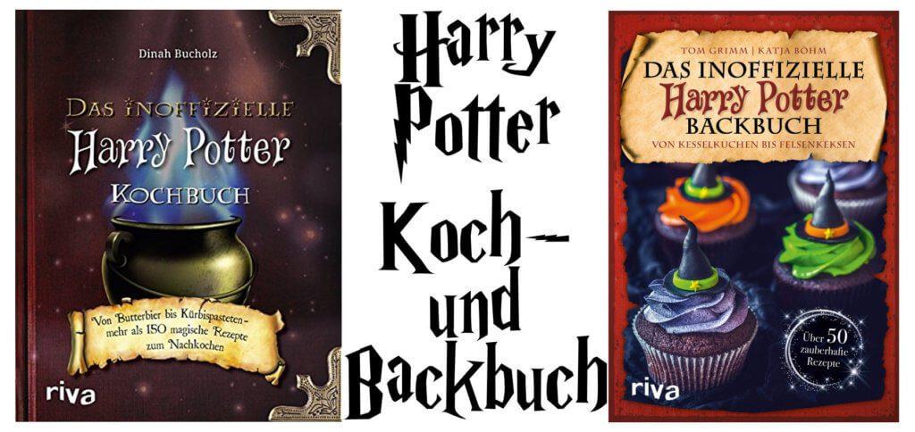 Mit dem Harry Potter Kochbuch und dem Harry Potter Backbuch lassen sich Rezepte aus Hogwarts und Umgebung auch in der Muggel-Welt realisieren. Ideal als Weihnachtsgeschenk!