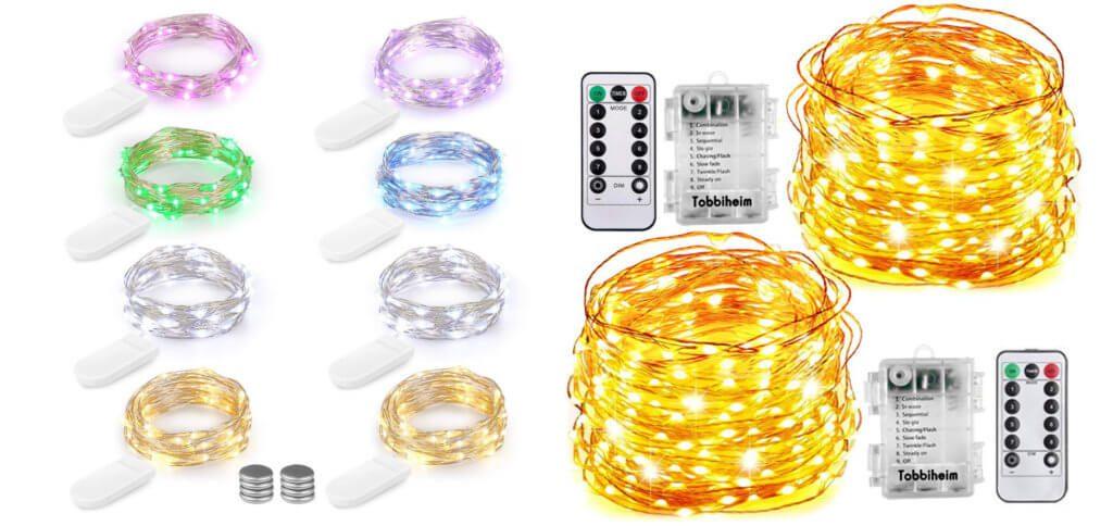 Ihr sucht noch die richtige LED Lichterkette mit Batterie-Betrieb? Hier findet ihr Empfehlungen und Bestseller von Amazon. Batteriebetriebene Lichterketten sind recht günstig ;)
