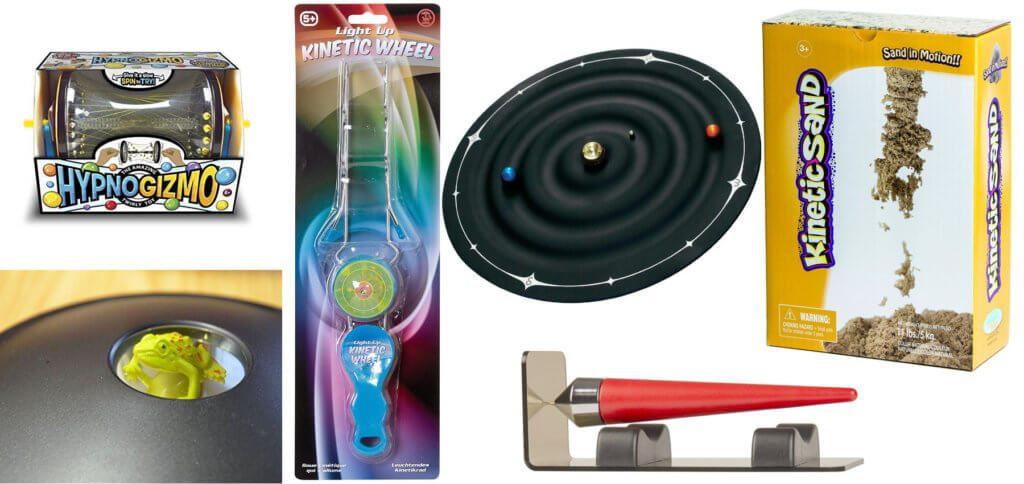 Im dritten und letzten Teil der Beitragsreihe zu faszinierendem Physik-Spielzeug für Kinder und Erwachsene findet ihr weitere praktische und lehrreiche Artikel.
