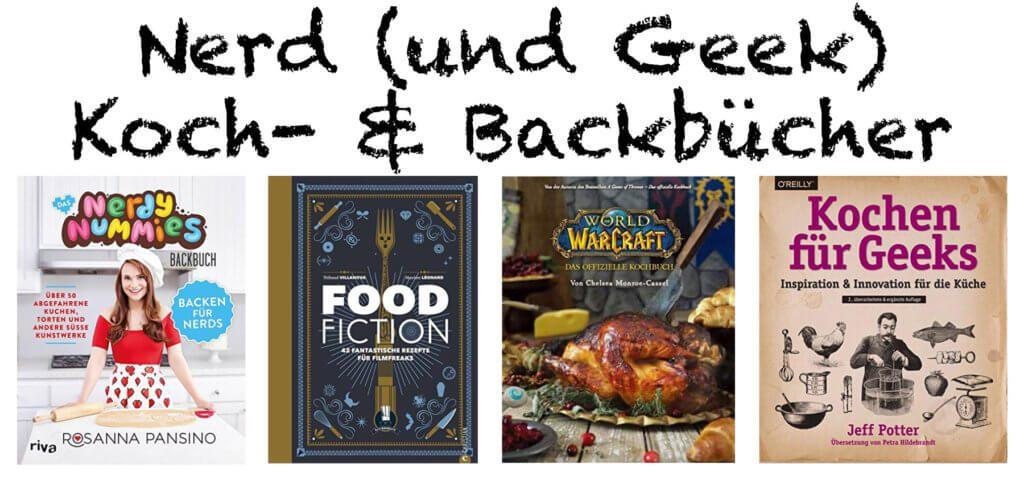 Das beste Nerd Kochbuch oder eins der besten Geek Backbücher - hier findet ihr das richtige Weihnachtsgeschenk für Nerds und Geeks, damit diese sich in der Küche austoben können.