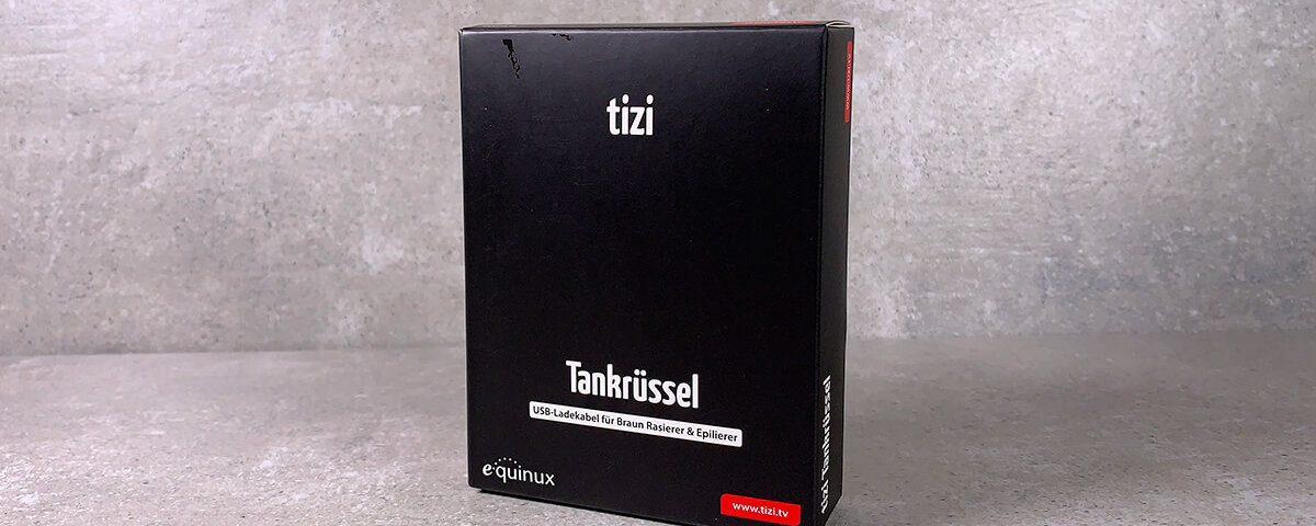 Beim tizi Tankrüssel handelt es sich um ein Ladekabel für Braun Rasierer und Epilierer (Fotos: Sir Apfelot).