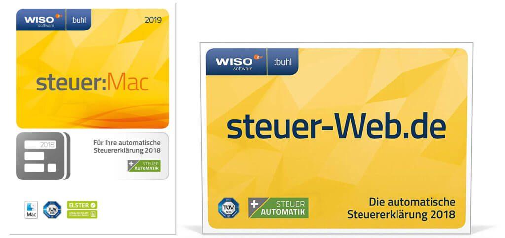 WISO steuer:Mac 2019 ist eine Mac App für die Steuererklärung zum Steuerjahr 2018. Den Aktivierungscode kaufen geht auf Amazon - die Zustellung ist per E-Mail möglich.
