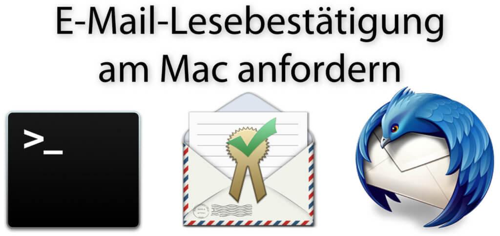 Per Apple Mail eine Lesebestätigung anfordern und erhalten, das geht nicht so einfach. Entweder ihr nutzt Befehle im Terminal, die iReceiptMail App oder gleich einen anderen Mail Client.