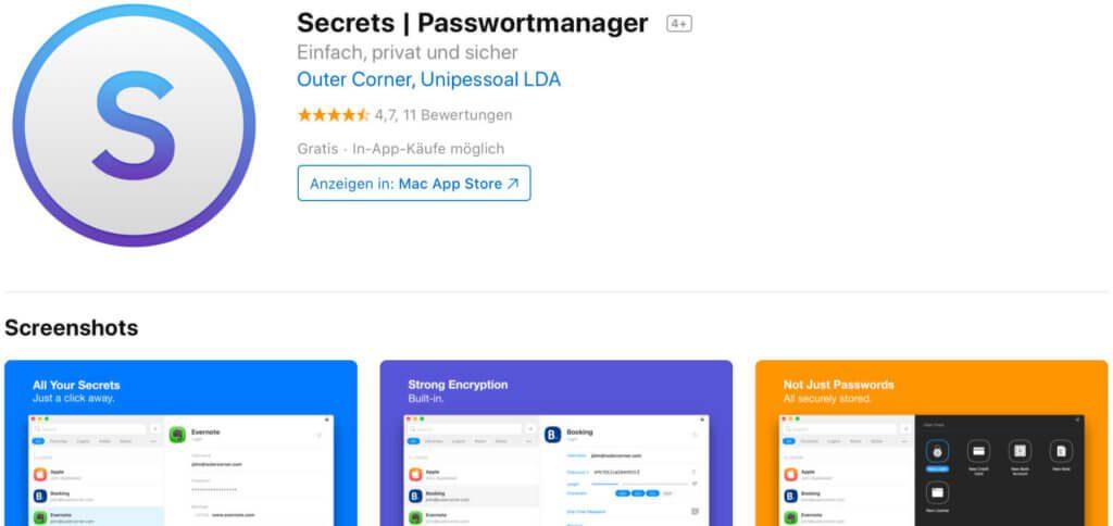 Secrets soll angeblich in den Mac Systemeinstellungen einen Punkt freischalten, über den man in macOS Mail Lesebestätigung aktivieren kann. Im Test hatte ich entweder die falsche Software oder es gibt die Option nicht mehr.