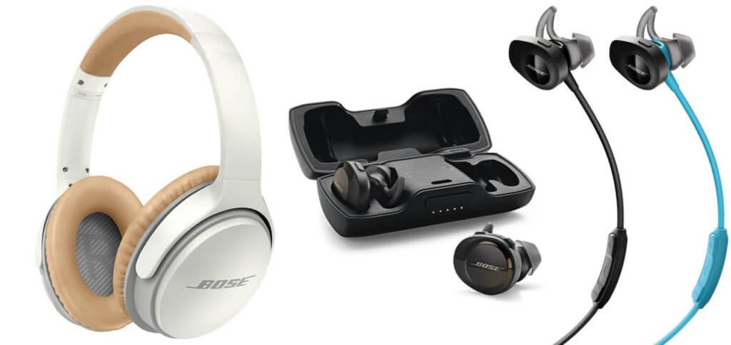 Bose Bluetooth-Kopfhörer mit Hifi-Sound und als gut befundenem Bass - hier findet ihr die besten Over- und In-Ear-Headphones für Musik, Podcasts und mehr. Bilder: Amazon