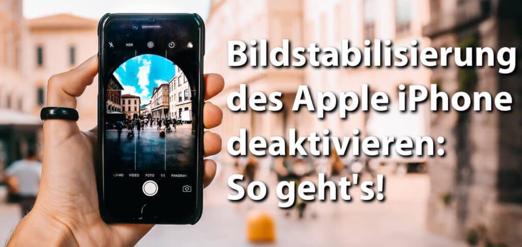 Abschalten der optischen Bildstabilisierung von iPhone X, XS, XS Max, XR mit einem Magnet - hier erfahrt ihr, wie und warum das funktioniert. Wollt ihr ein Gimbal benutzen, dann kann der Trick hilfreich sein!