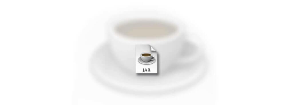 Die Icon mit einer JAR-Dateiendung deutet auf eine Java-Anwendung hin, die sich per Doppelklick starten läßt.