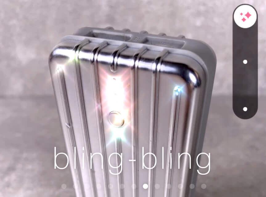 """Filter """"Bling-Bling"""""""