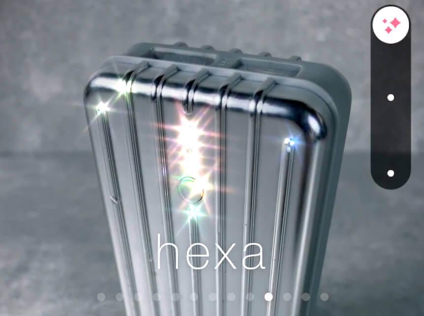 """Filter """"Hexa"""""""