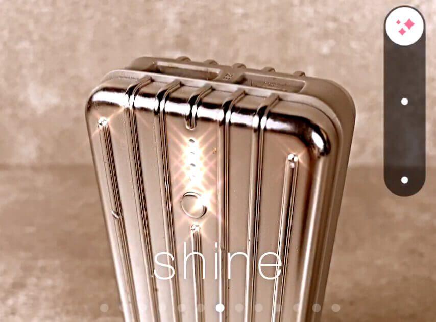 """Filter """"Shine"""""""