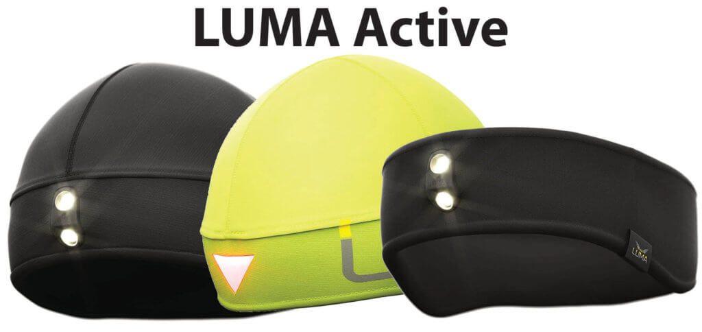 Die LUMA Active Lichtmütze und das Stirnband mit LED-Licht sind für Nachtsport und Outdoor Sport in Herbst und Winter super geeignet. Die Lichter lassen sich leicht aus Mütze und Band entnehmen sowie austauschen. Bilder: Amazon