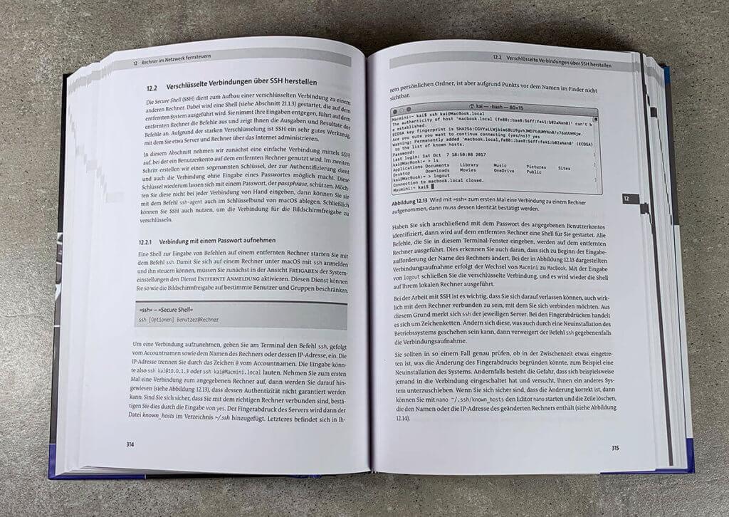 Die Innenseiten sind alle schwarz-weiß gedruckt, was aber dem großartigen Inhalt des Buches keinen Abbruch tut.