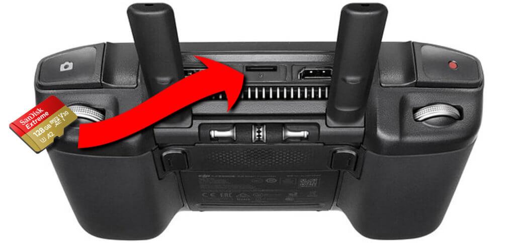 Die beste SD-Karte für den DJI Smart Controller? Meine Empfehlung für die Drohnen-Fernsteuerung kommt von SanDisk.