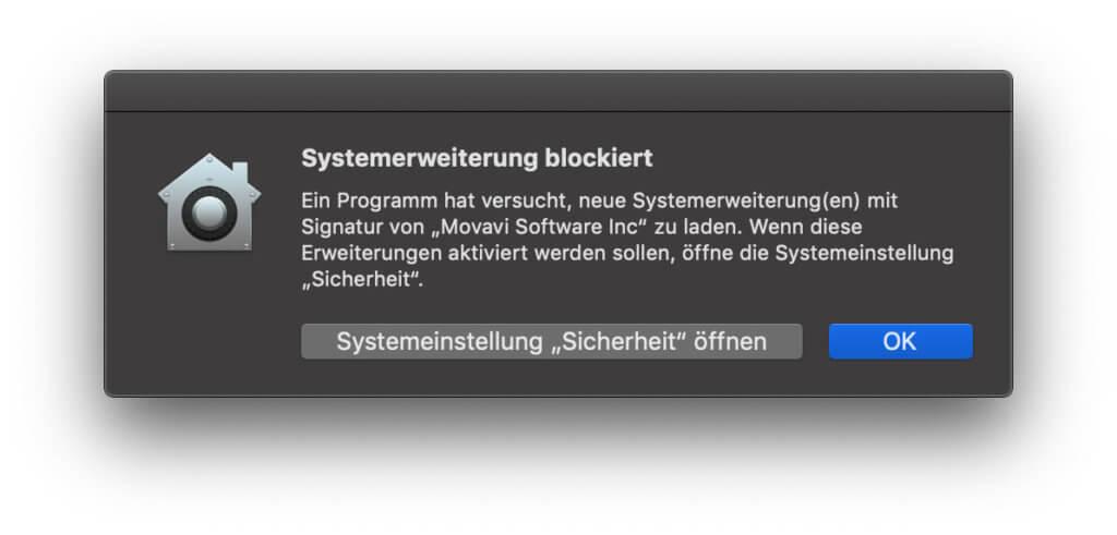 Falls eine Systemerweiterung installiert werden muss, ist eine Erlaubnis vom Admin gefragt.