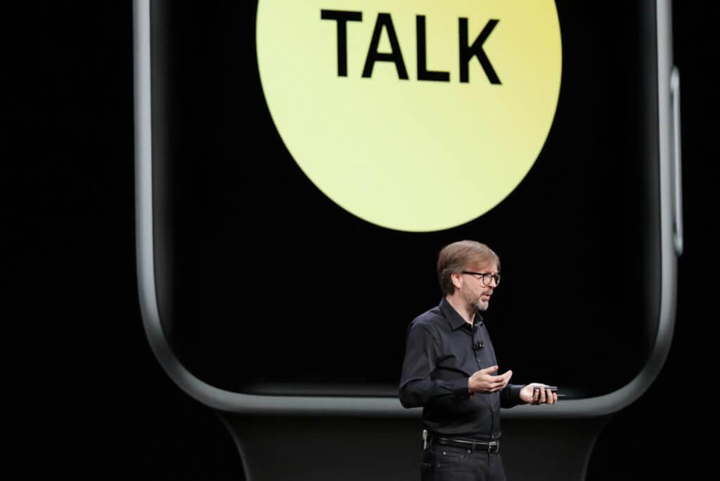 Kevin Lynch stellt neue Apple Watch Features vor. Quelle: Apple WWDC 2019 Gerüchte, Inhalte